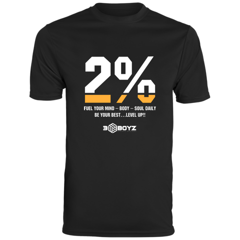 EBOYz - Dri-Tech T-Shirt - 2% - Black & Gold