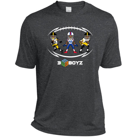 EBOYz - Brothers - Dri-Fit T-Shirt - Graphite Heather