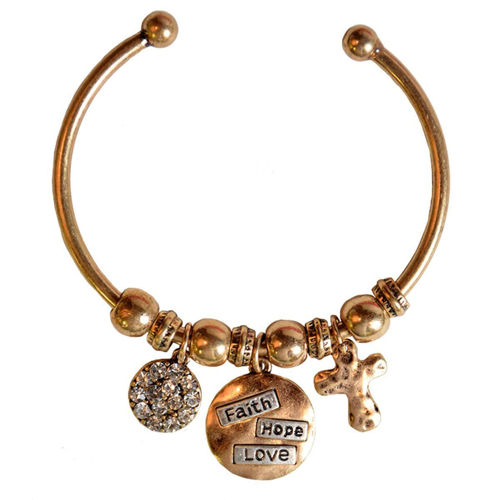 Faith Gear® Women's Bracelet - Faith Hope Love