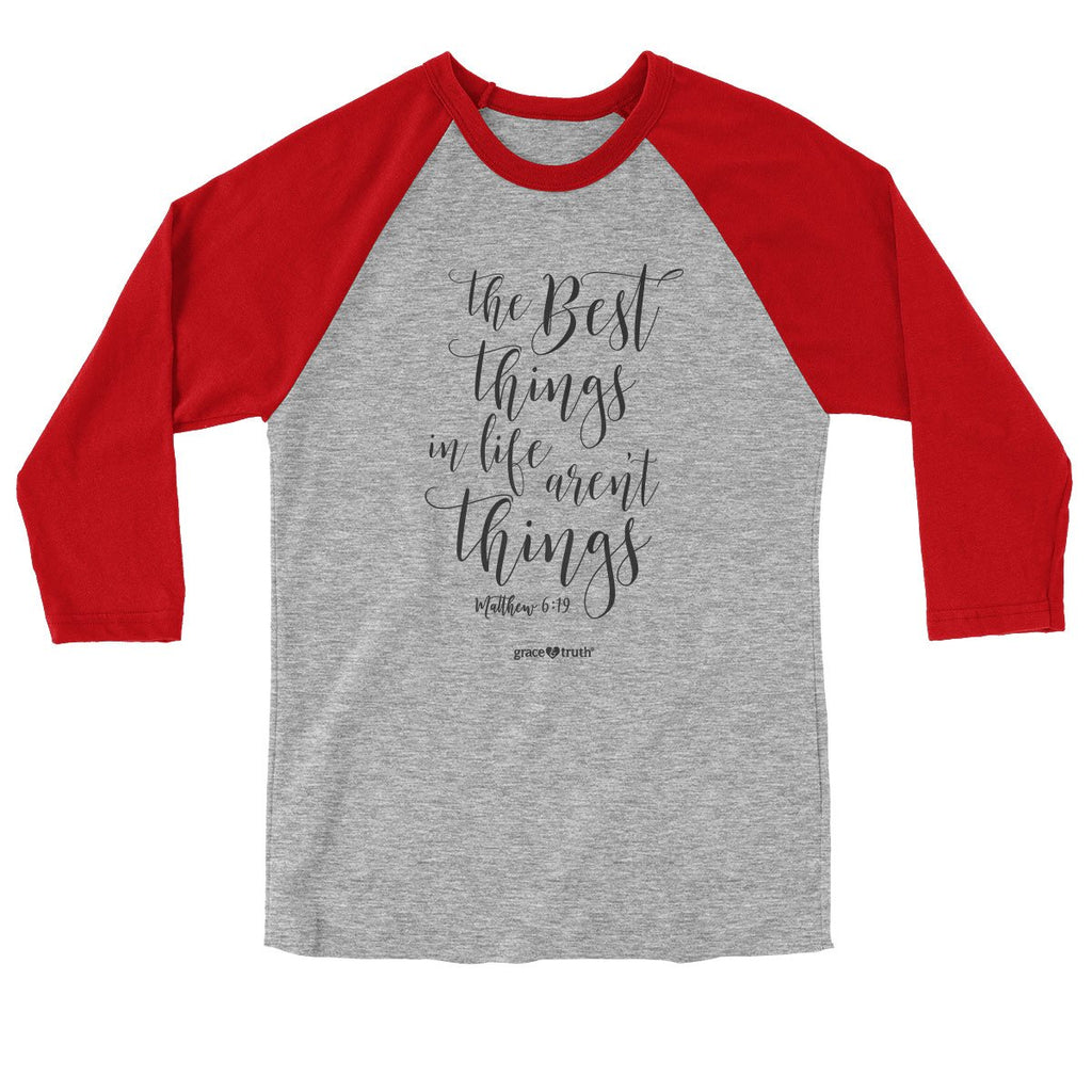 grace & truth® Adult Raglan T-Shirt - The Best Things