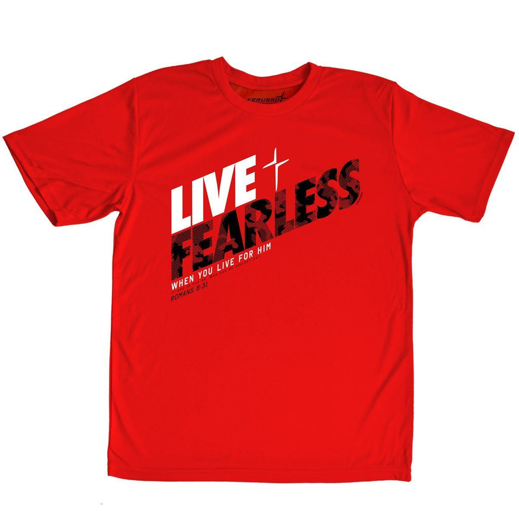 Live Fearless Kids Kerusso ACTIVE® T-Shirt ™