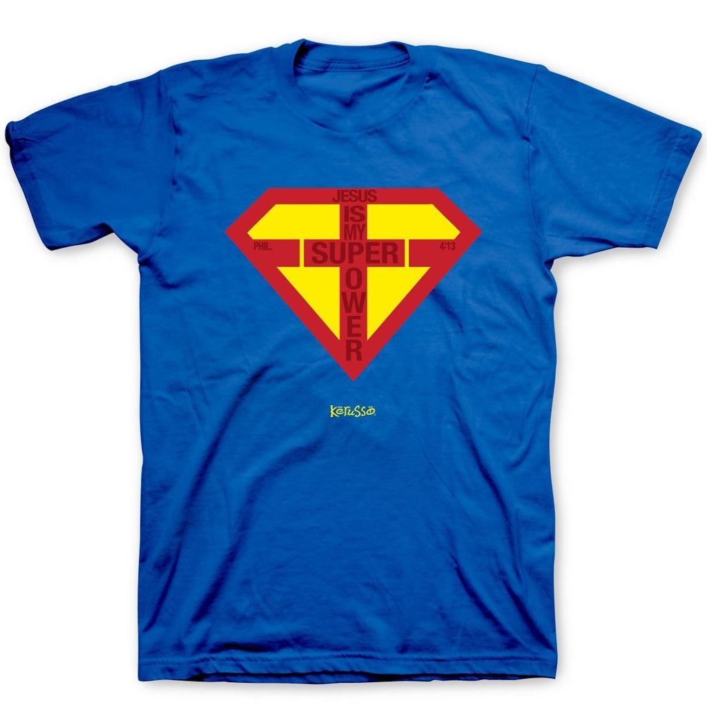 Super Power Adult T-Shirt