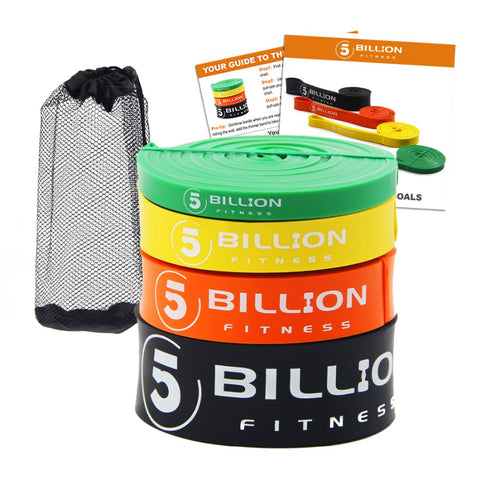 Fitness Resistance Bands (Heavy Duty Latex)