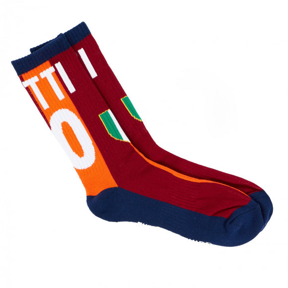 Roma 01/02 European Home - Totti Socks