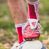 denmark socks worn with adidas predators