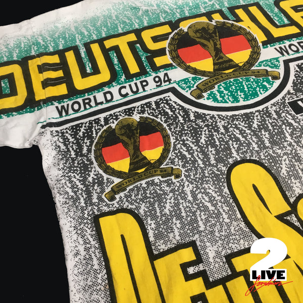 WORLD CUP 94 USA DEUTSCHLAND TEE (FULL PRINT)