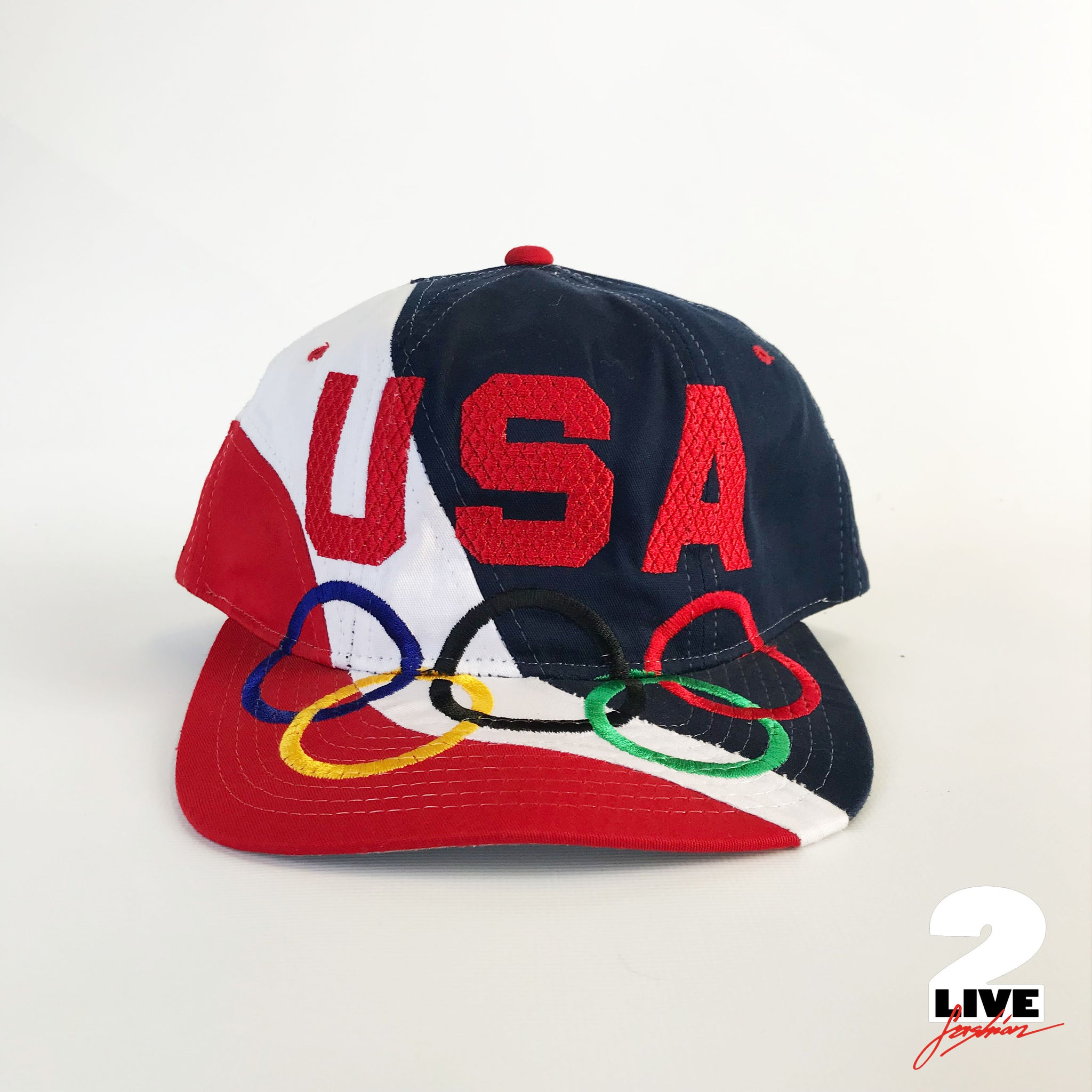STARTER- 90s Sample USA Olympia Cap, deadstock