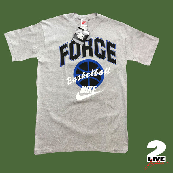NIKE - 90s Basketball Force Tee, deadstock