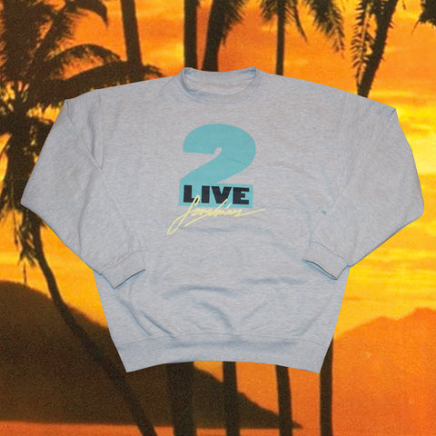 2LIVEFASHION CREWNECK ''SOUTH BEACH''