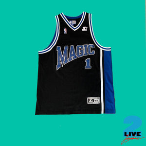 90s STARTER ''ORLANDO MAGIC'' WORKOUT JERSEY