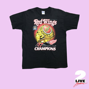 1997 DETROIT REDWINGS CHAMPIONSHIP RING SHIRT