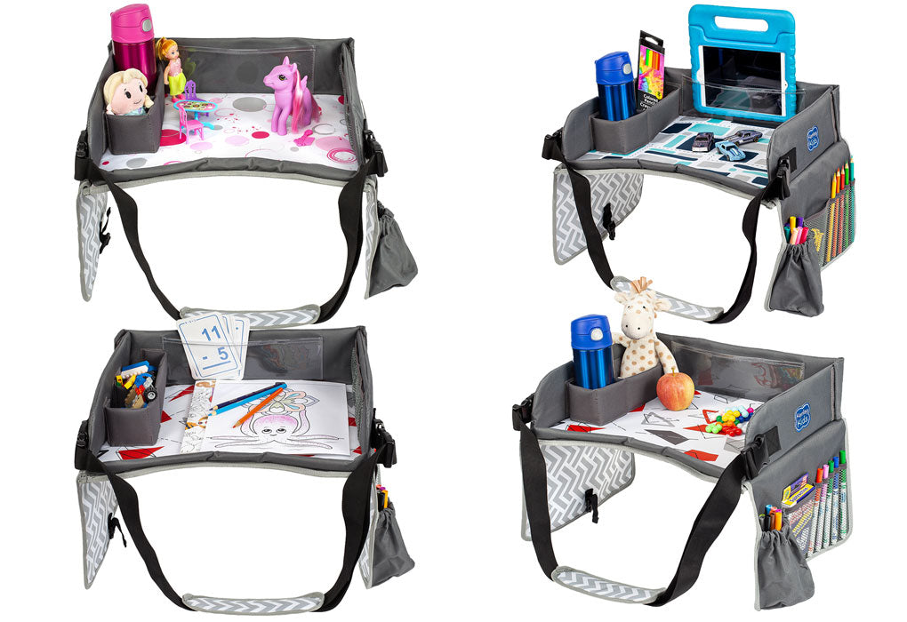 toddler car travel play tray multifunctional
