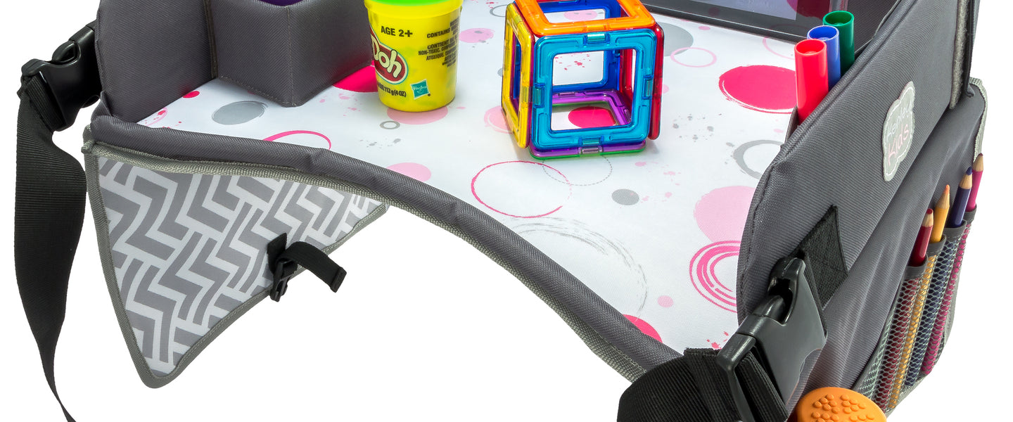 Kenley Kids Pink Car seat activity tray