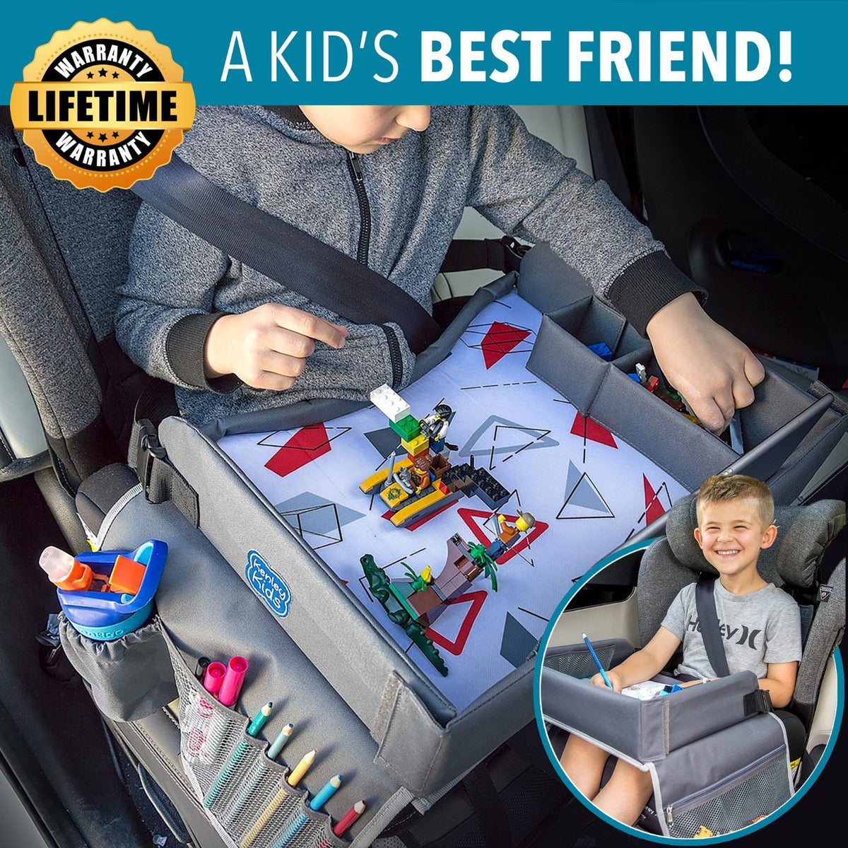kids travel tray road trips activities