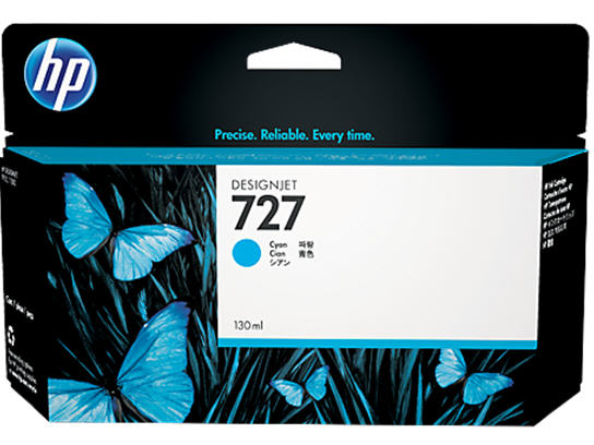 HP 727 DesignJet Ink Cartridge 130ml