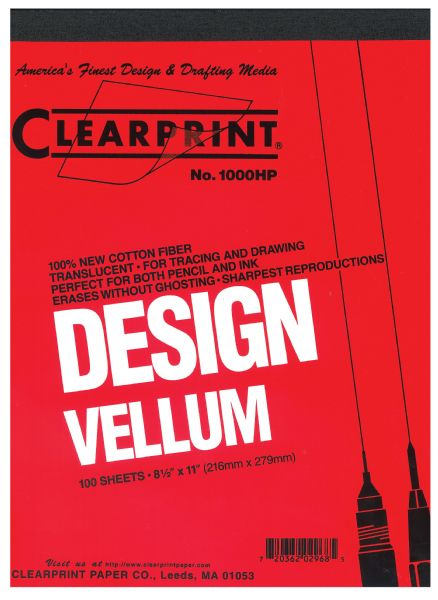 "Clearprint 16# 11""x17"" Vellum 100 Sheet Pack"