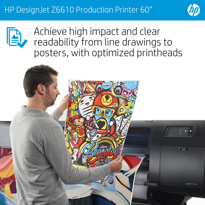 "HP DesignJet Z6610 6-ink 60"" Production Printer"