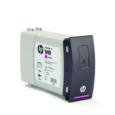 HP 848A PageWide XL 400-ml Ink Cartridge