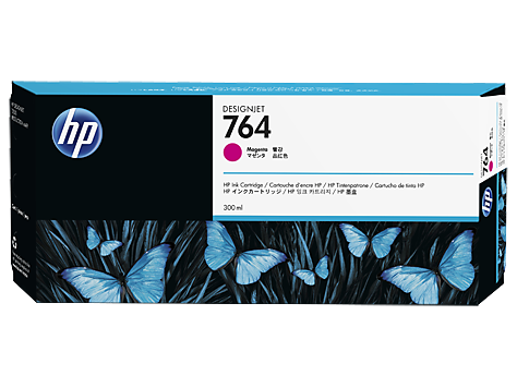 HP 764 DesignJet Ink Cartridge 300ml