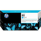 HP #80 Printhead & Cleaner for DesignJet 1000 Series