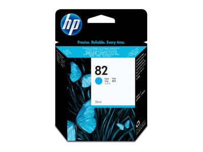 HP #82 Ink Cartridge for DesignJet 800,500 Series 69ml