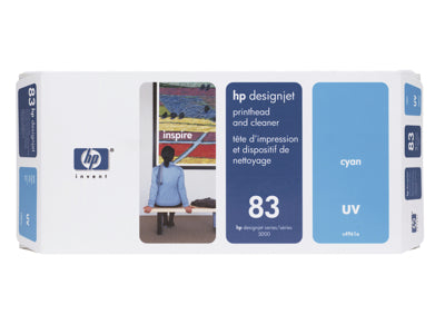HP #83 UV Printhead & Cleaner for DesignJet 5000ps Series