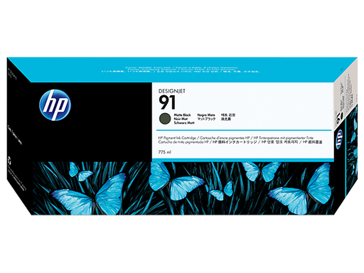 HP #91 Pigment Ink Cartridge 775ml