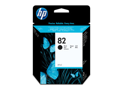 HP Black #82 Ink Cartridge 69ml