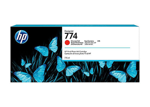 HP 774 Chromatic Red Ink Cartridge - (Z6810 only)