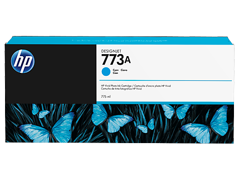 HP 773A DesignJet Ink Cartridge 775ml