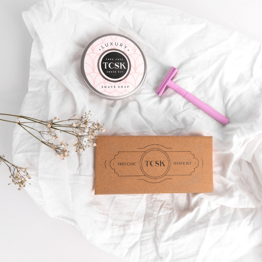 A Holiday Gift That Keeps On Giving -- Touchable, Hair-Free Skin That Is! - Très Chic Shave Kit