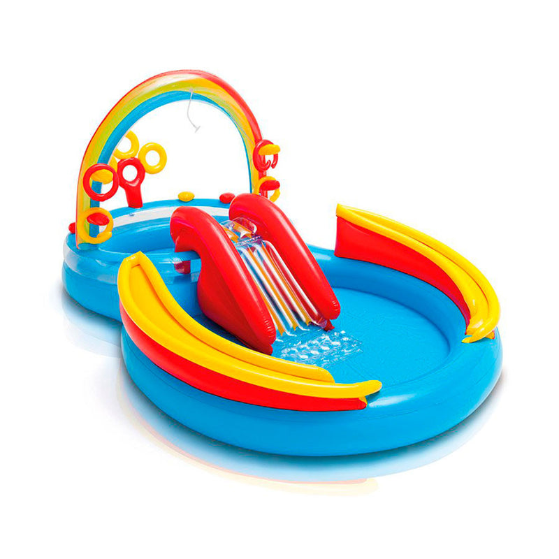 Inflable intex playcent rainbow 19620/0
