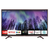 Smart tv sharp 55  sh5520kuhd 4k