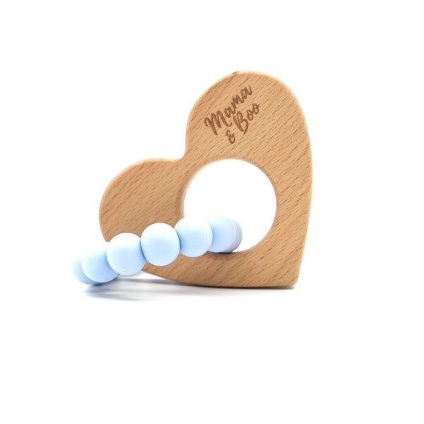 Mama & Boo Circle My Heart Teething Toy - Life and Co