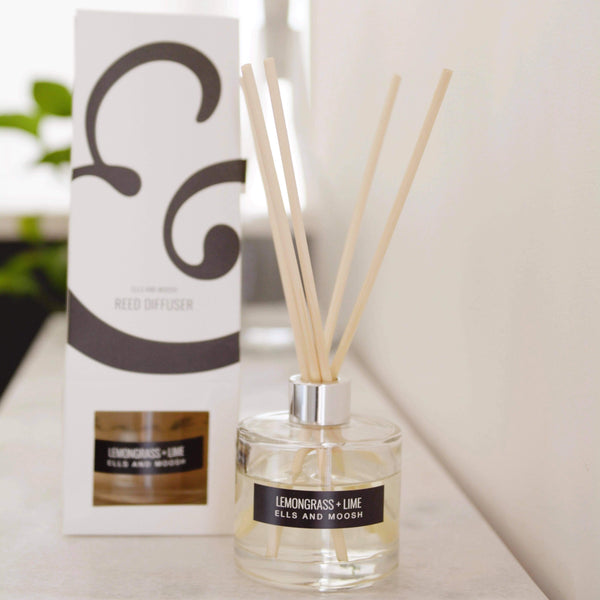Ells and Moosh Luxe Reed Diffuser - Life and Co