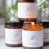 Ells and Moosh Hand Poured Soy & Coconut Candles - Life and Co