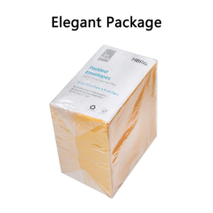 Wholesale Kraft Bubble Mailers Padded Envelopes Shipping Bags Self Seal Yellow - 500 Pack