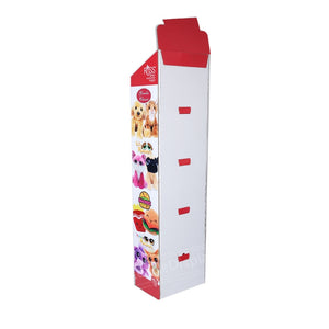 Custom Advertising Pet Food Floor Cardboard  Pop Displays