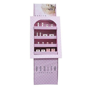 Cosmetic Floor Cardboard Pop Display Shelves
