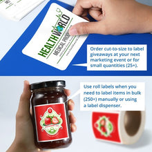 Custom Label Printing Service