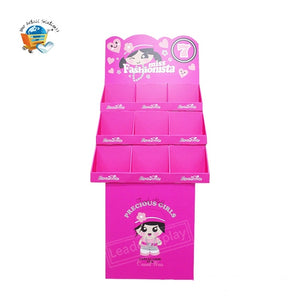 Paper material Floor Cardboard Pop Displays