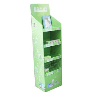 Pocket Facial Tissues Cardboard Shelf Pop Displays