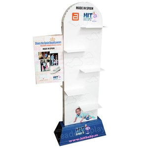 Shoes Floor Cardboard Pop Display Stands