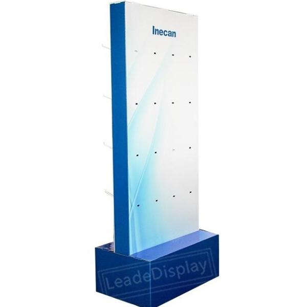 Store Double Sides Cardboard Pop Hook Displays