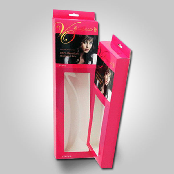 Retail Hairspray Boxes Package