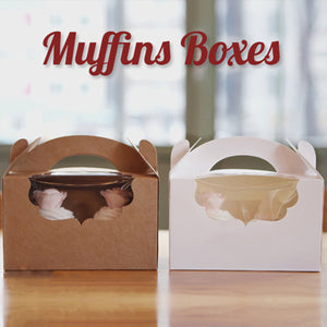 Retail Muffin Boxes & Packages