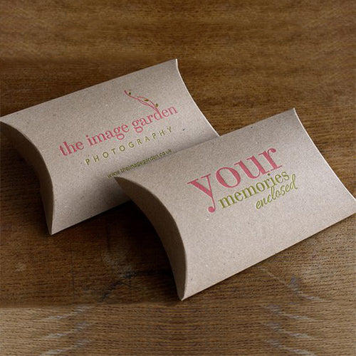 Retail Pillow Boxes & Packages