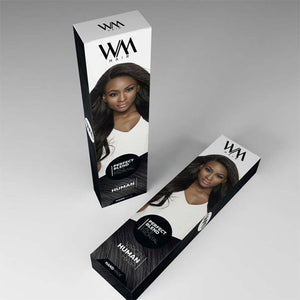 Retail Hair Extension Boxes Package