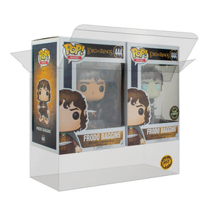 PPJoe Chaser Pack (2 single Pops) und 3 Pack (Triple) [NEU] Funko Pop Protektor