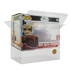 PPJoe Star Wars Rey with Speeder Pop Protektor